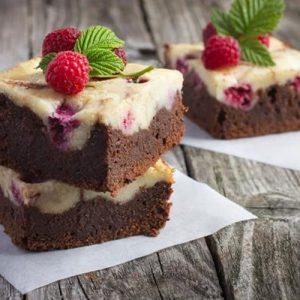 brownie-con-cheesecake-de-frambuesa
