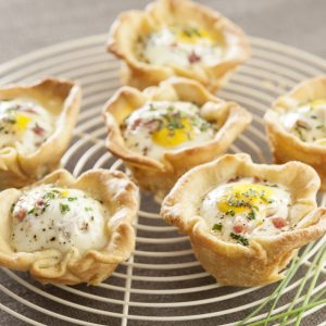 tartaletas-de-huevo-y-jamon
