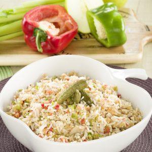 ensalada de arroz basamti y atun