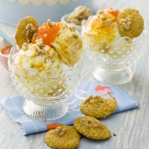 helado de carrot cake