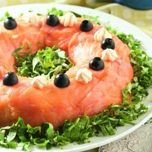 Budin de salmon