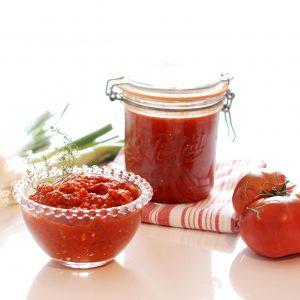 salsa de tomate estilo italian