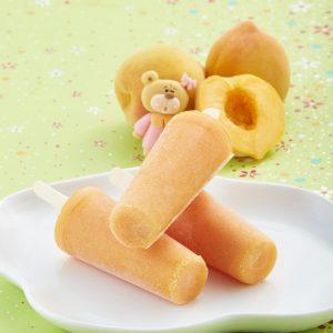 Paleta de durazno y banana