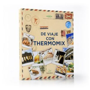 libro de viaje con thermomix posicionado