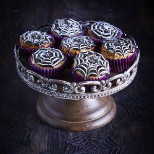 Cupcake tela de araña