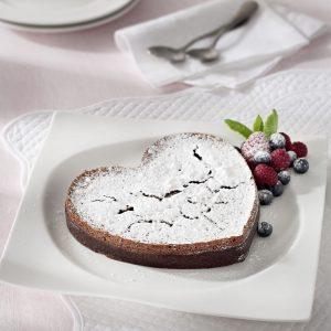 Torta Corazon de Chocolate