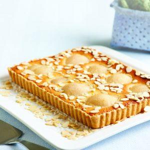 Torta de peras y almendras