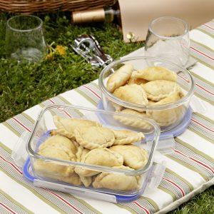 Empanadas de puerro