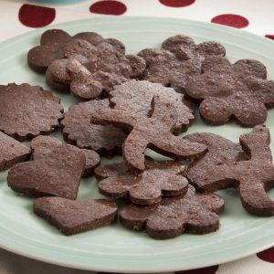 Galletitas crujientes de chocolate