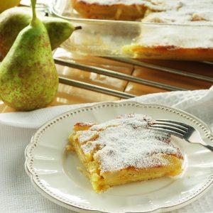Tarta de manzana y peras