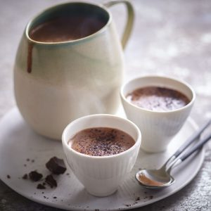 chocolate caliente sin lactosa