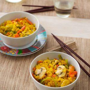 arroz meal prep