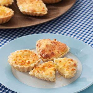 tarteletas de queso