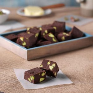 Fudges de chocolate
