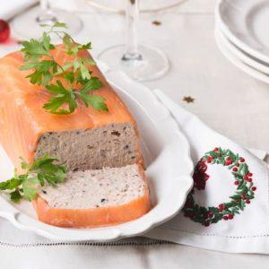 pate de jamon y salmon