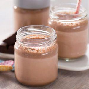 Yogur natural de chocolate en Varoma