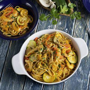 Tallarines con verduras y langostinos al curry, H RGB 171114-273-hpr