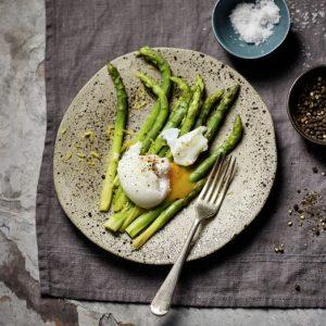 Espárragos con huevos poché (Al vacío) 1-scr