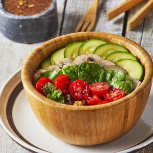 Quinoa bowl con hongos-scr